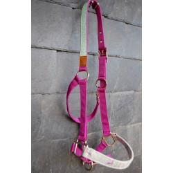 pferde-Halfter fuchsia pink