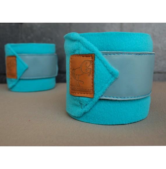 bandagen pferd türkis-blau