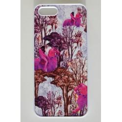Smartphone Case pink pferde muster
