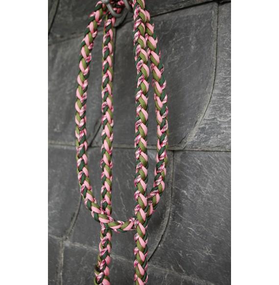 Pferde strick rosa grün