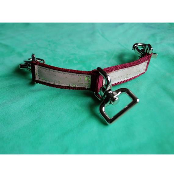 Longierbrille 'Waidgold' - bordeaux