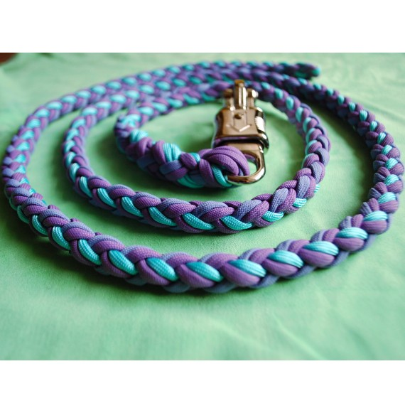 Paracord Strick 'Lilaliebe'